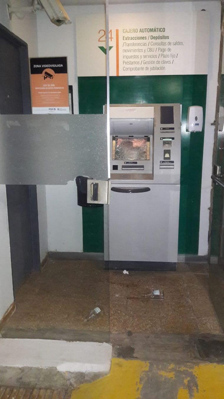 FOTO: Ataque de furia: molió a golpes el único cajero de Buchardo