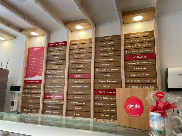 FOTO: Jauja, una heladería de sabores lúdicos y 100% naturales