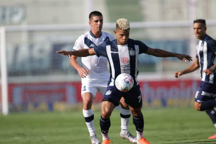 AUDIO: 1° Gol de Vélez (Orellano)