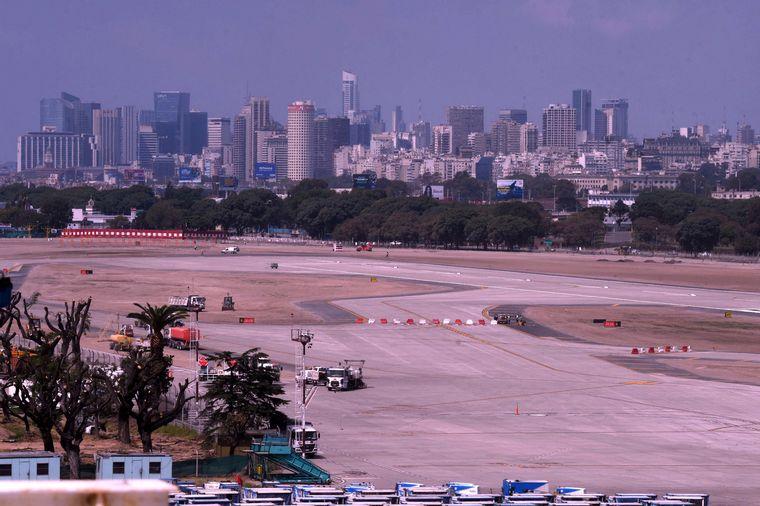 FOTO: Reapertura Aeroparque