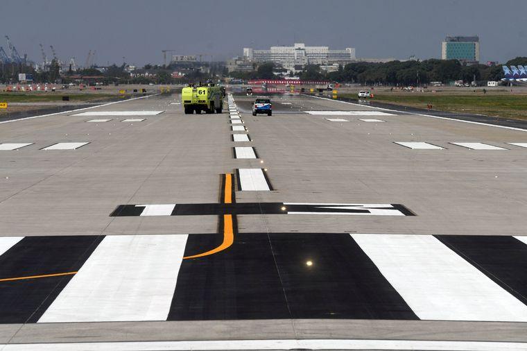 AUDIO: Aeroparque volvió a operar tras permanecer 7 meses cerrado