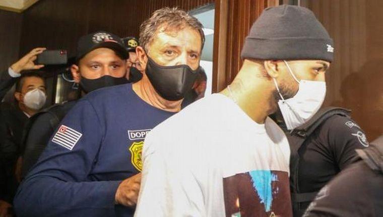 FOTO: El brasileño Gabigol fue detenido en un casino clandestino