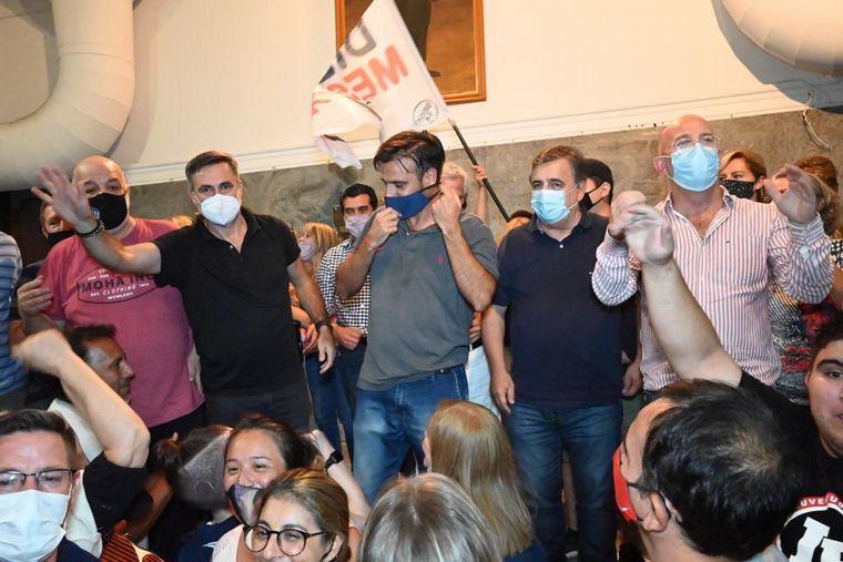 FOTO: Los referentes de la línea Convergencia se adjudicaron la victoria.