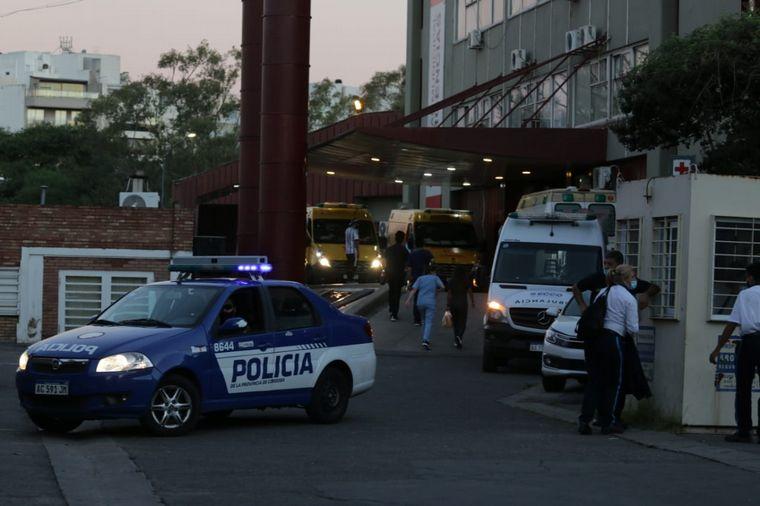 FOTO: Tiziana Montero estaba internada en el Hospital de Urgencias.