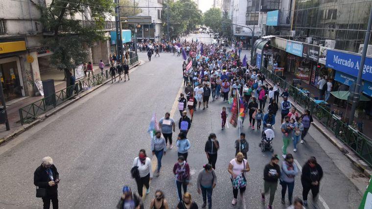 AUDIO: Organizaciones sociales se movilizan en contra del aumento de precios