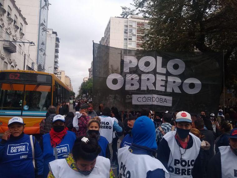 AUDIO: Masiva concentración de organizaciones sociales en Córdoba