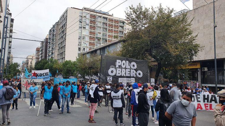 FOTO: Polo Obrero protesta en Córdoba