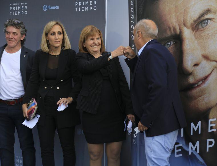 FOTO: Laura Alonso, en la presentación del libro de Mauricio Macri.