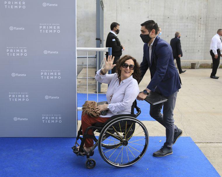 FOTO: Patricia Bullrich, en la presentación del libro de Mauricio Macri.