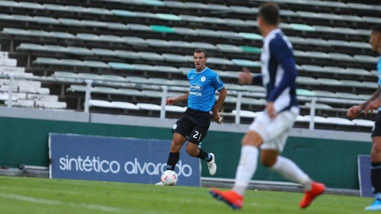 AUDIO: 1° Gol de Belgrano (Adrián Balboa)