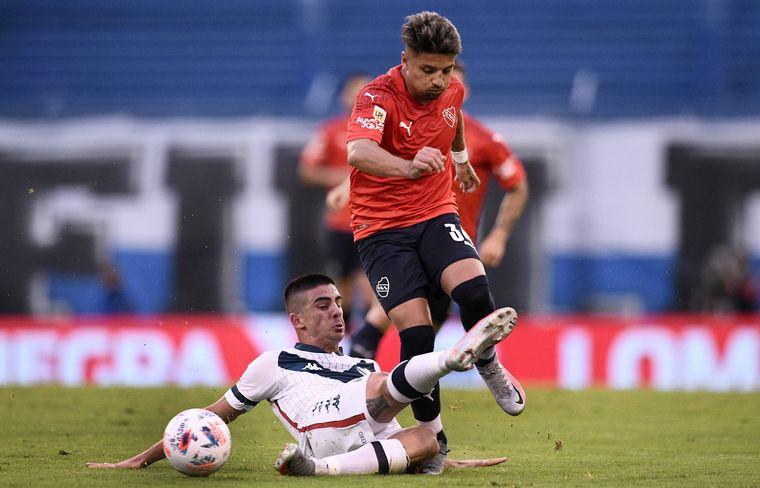 AUDIO: 1° Gol de Vélez contra Independiente (Luis Abram)