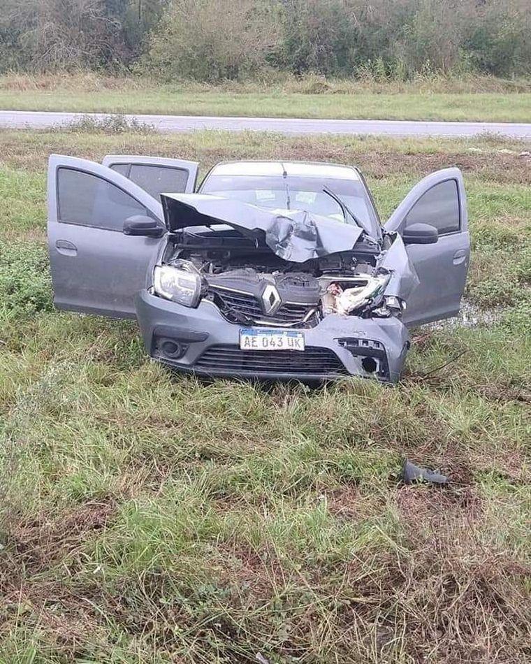FOTO: El hecho ocurrió este sábado en la autopista Tucumán-Famaillá.