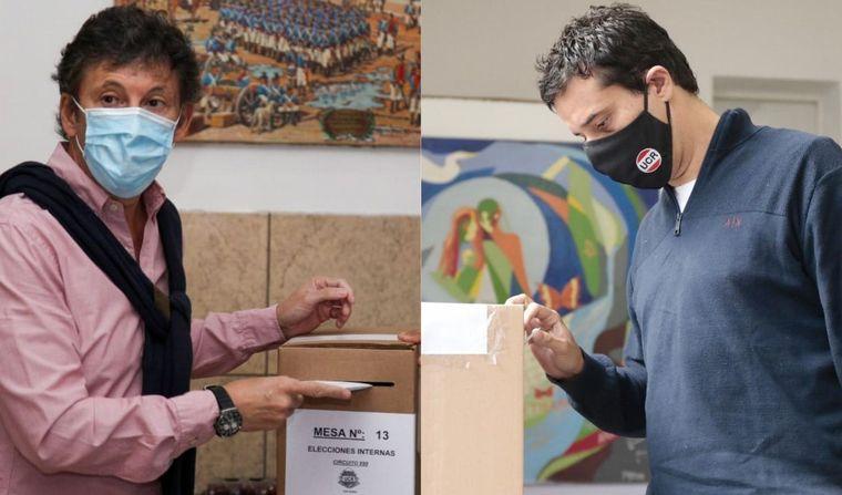 FOTO: Maximiliano Abad obtuvo el 52% de los votos.