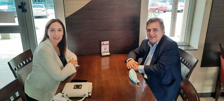 AUDIO: Vidal reapareció en Córdoba sin definiciones electorales