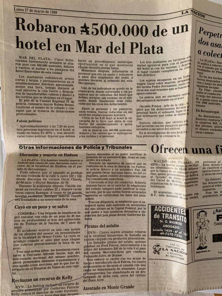 FOTO: A 32 años de, Torcuato,