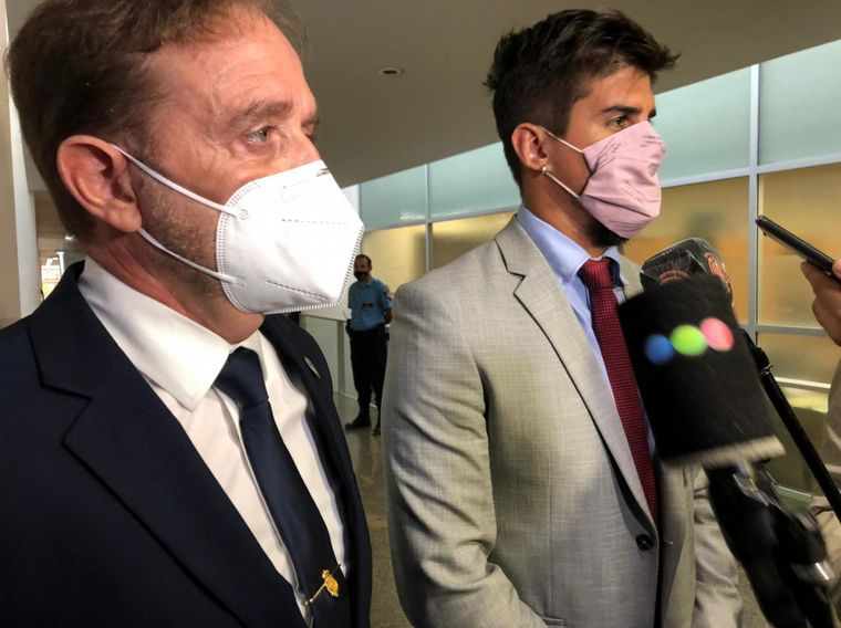 FOTO: Caso Blas Correas: declara el subcomisario retirado Gonzalo Cumplido.
