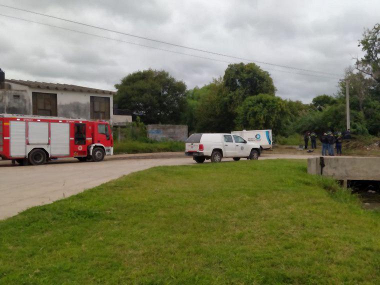 FOTO: Encontraron un cuerpo en el canal Maestro Norte