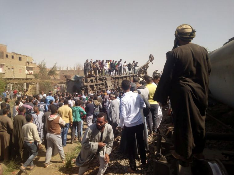 FOTO: El hecho ocurrió a 365 kilómetros al sur de El Cairo.