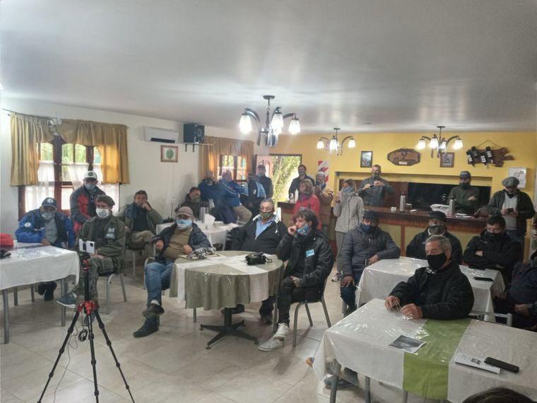 FOTO: Ex soldados de Malvinas reclaman su derecho a la veteranía. Fotos: Mirta Velázquez.
