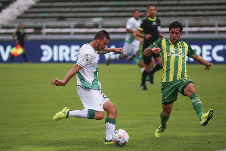 FOTO: Aldosivi y Banfield empataron 1-1 en Mar del Plata.