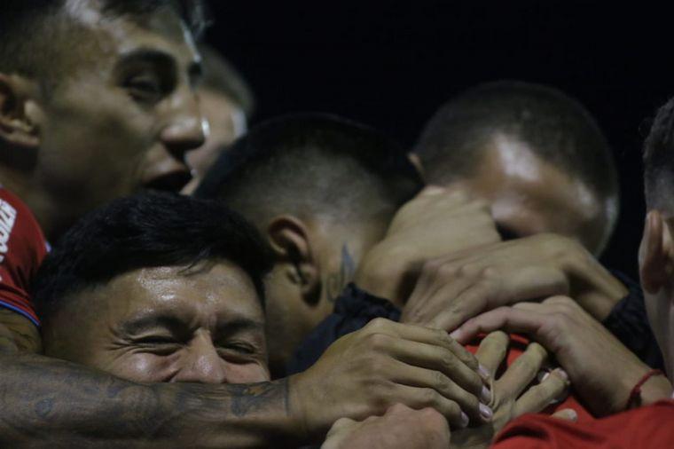 AUDIO: 1º gol de Belgrano a Estudiantes de Caseros  (Balboa)