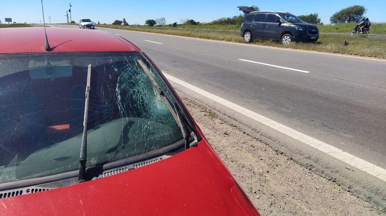 FOTO: Accidente sobre la autovía 19, en el ingreso a Córdoba.