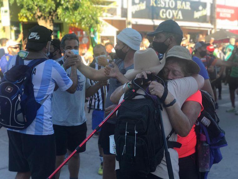 AUDIO: Más de 100 peregrinos llegaron a Villa Cura Brochero