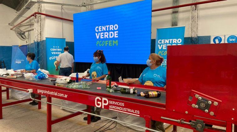 FOTO: Primer Centro Verde productivo de mujeres en Córdoba