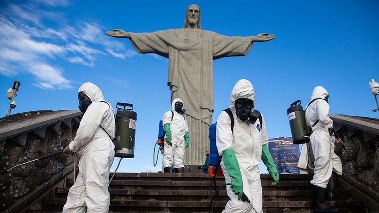 FOTO: Brasil sigue aquejado por los decesos y contagios por Covid-19.