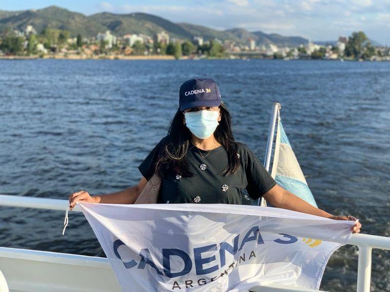 AUDIO: Un recorrido por el lago San Roque en catamarán