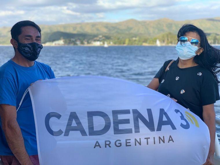 FOTO: Un recorrido por el Lago San Roque en catamarán