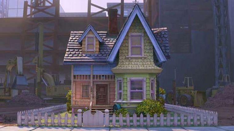 FOTO: Construyó la casa de la película Up como regalo a su hijo