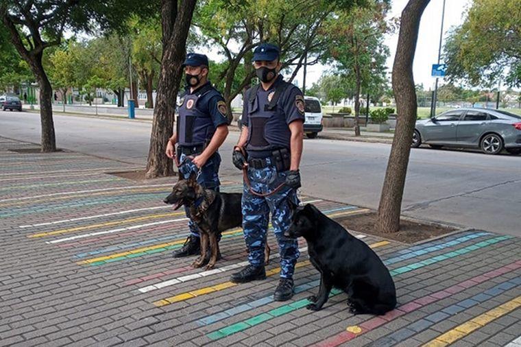 FOTO: Saro tenía ocho años y formaba parte de la Fuerza Policial