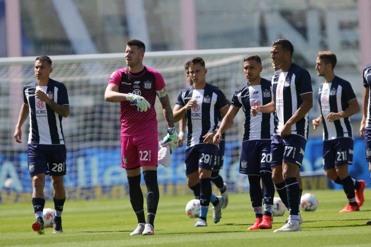 FOTO: Talleres venía de empatar con Godoy Cruz.