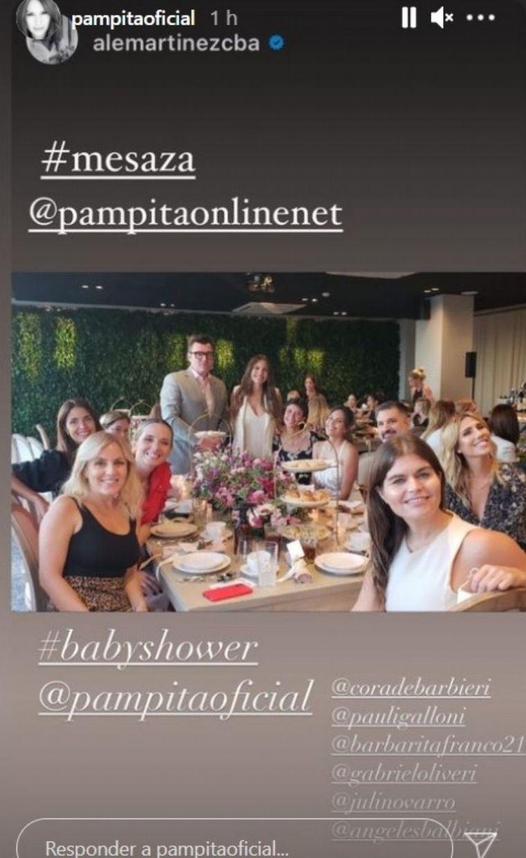 FOTO: Así fue el festejo del Baby Shower de Pampita