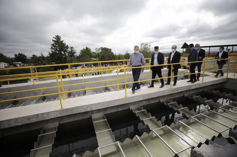 FOTO: Alta Gracia: habilitaron acueducto que beneficia a 80 mil habitantes.