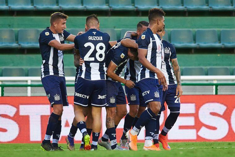 AUDIO: Gol de Talleres a Vélez (Santos)