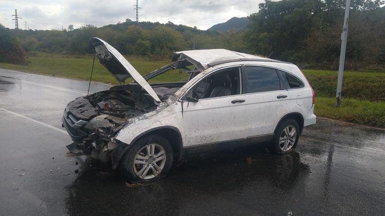 FOTO: Impactante coalición en la autopista Córdoba-Carlos Paz