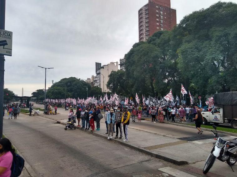 FOTO: Movililzación en el centro porteño