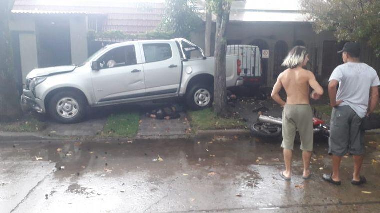 FOTO: Trágica salidera bancaria en Rosario.