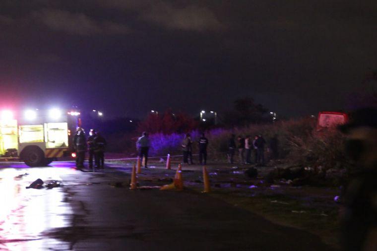 FOTO: El colectivero fue hallado muerto a metros de la unidad en la que trabajaba.