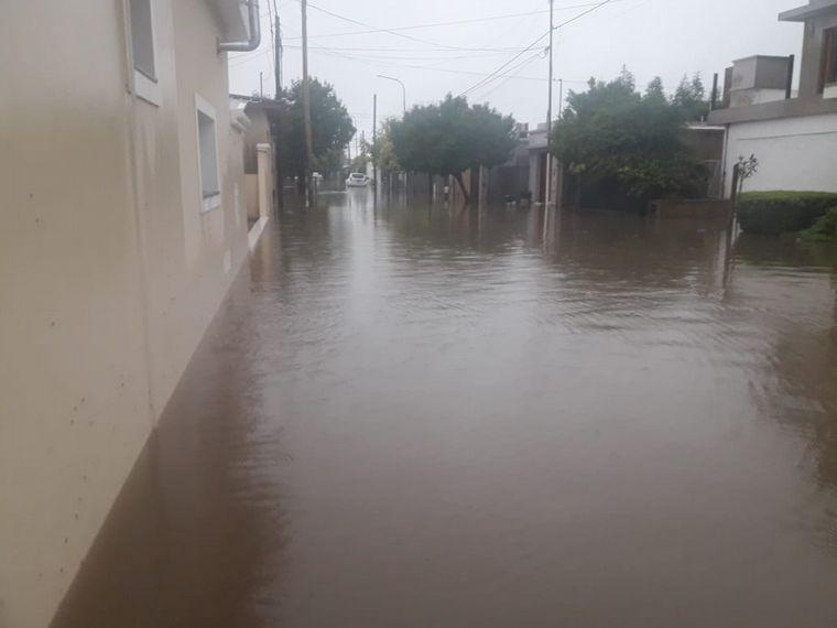 AUDIO: Cayeron 250 milímetros de lluvia en 12 horas en Marcos Juárez