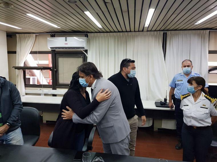 FOTO: Reunión entre UTA y la Policía por la muerte del chófer