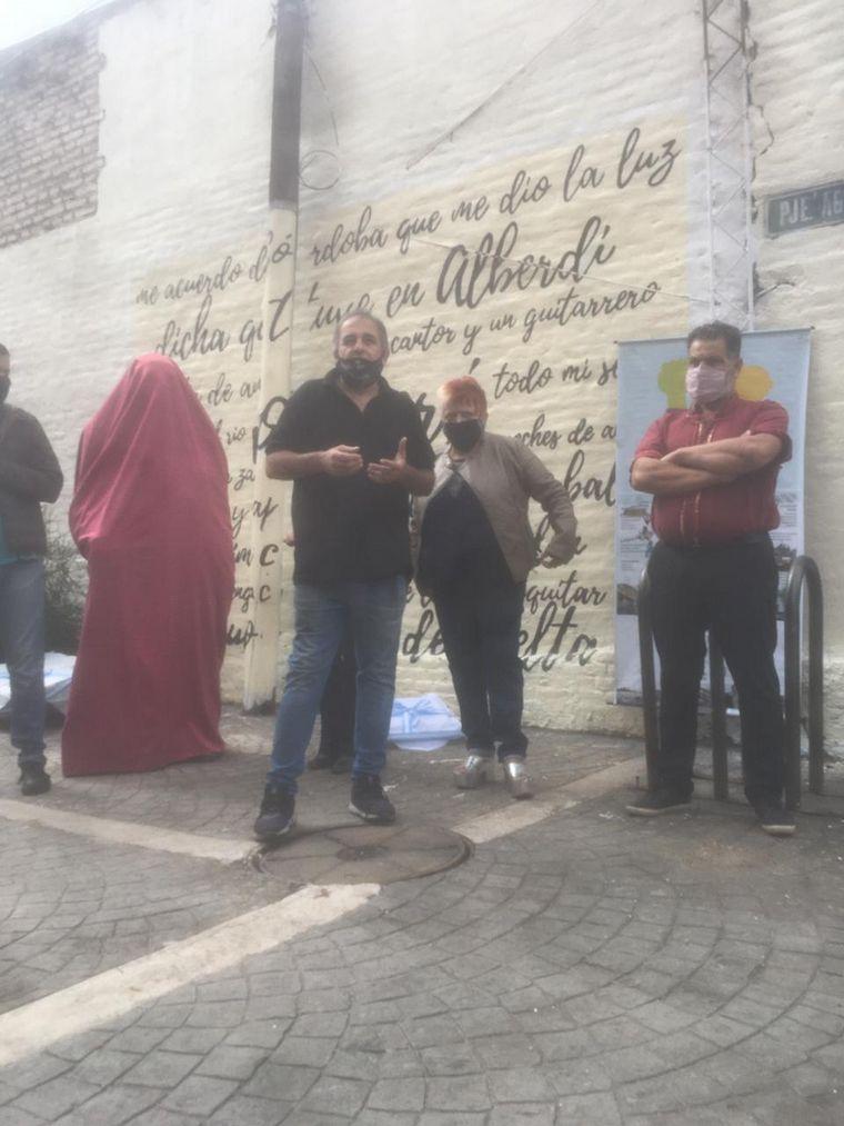 AUDIO: Descubrieron una escultura del Chango Rodríguez en Alberdi