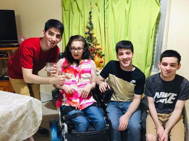 FOTO: Guillermina Regner tiene parálisis cerebral y se recibió de Comunicadora Social