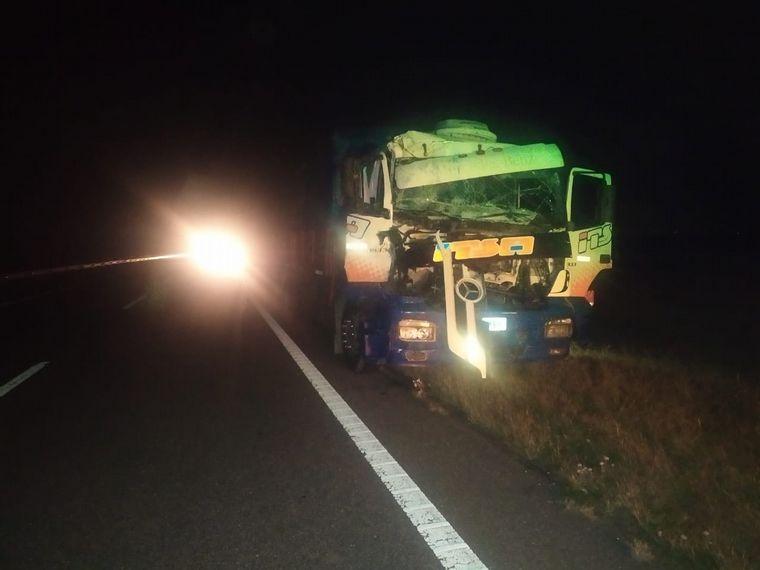 FOTO: Así quedaron los vehículos por el impacto.