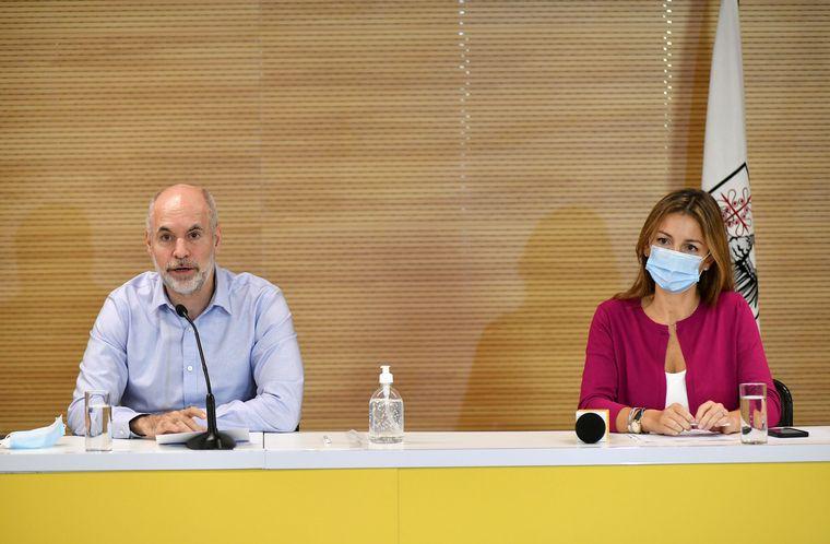 FOTO: Horacio Rodríguez Larreta bregó por la presencialidad de las clases.