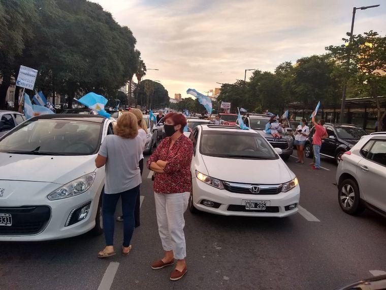 FOTO: Manifestantes en Buenos Aires.