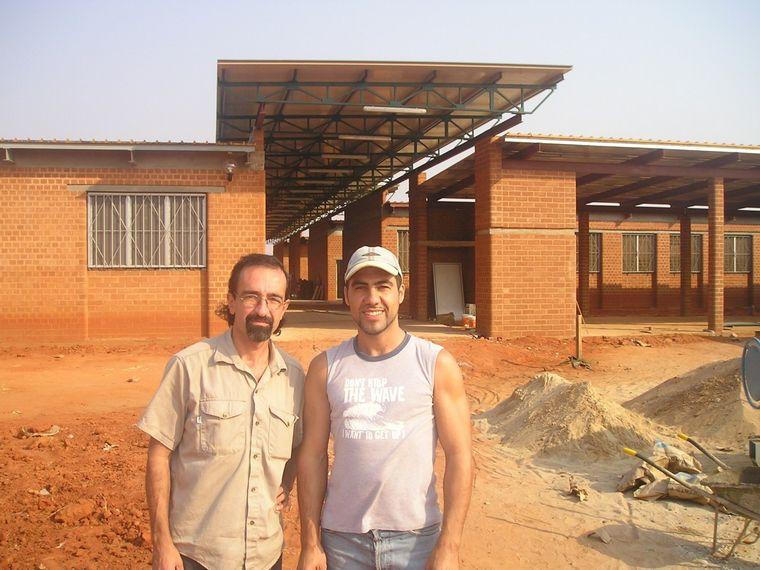 FOTO: Mauricio Gandulia, un argentino en Angola.