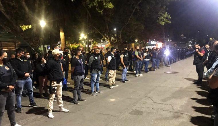AUDIO: Capturan en megaoperativo policial a banda de estafadores